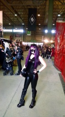 Latex Catsuit at Wave Gotik Treffen and in the tram