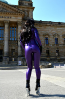 Shiny Rubberdoll - latexoutside