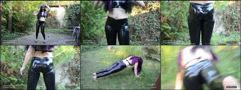 Outdoor Sport in Latex